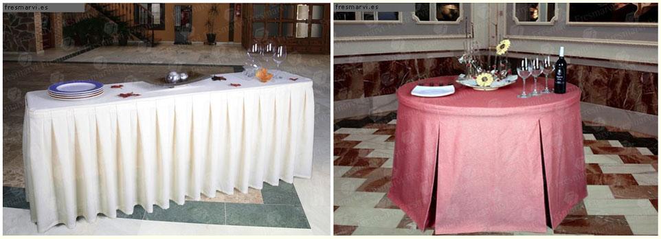 Hosteleria decoracion pallares y martin sl - Faldones para sillas ...